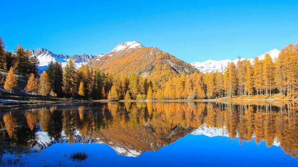 Lac de Roue en automne