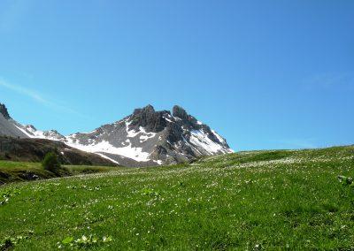 Pic de Rochebrune depuis le Lac de Souliers
